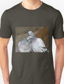 Love Is... Rock Pigeons Unisex T-Shirt