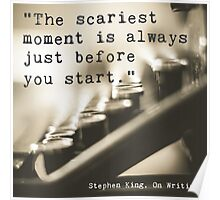 The Scariest Moment Poster