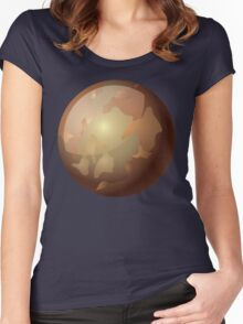 Pluto Women's Fitted Scoop T-Shirt