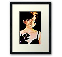 Out for fun Framed Print