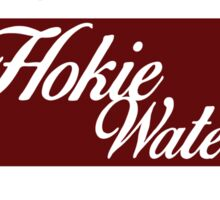 Hokie Water Sticker