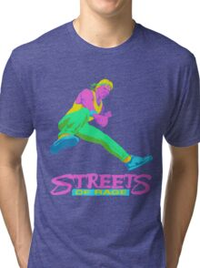 Neo Streets of Rage  Tri-blend T-Shirt