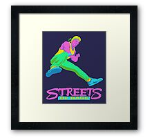 Neo Streets of Rage  Framed Print