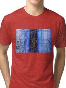 Cracked Grunge Texture Background Tri-blend T-Shirt