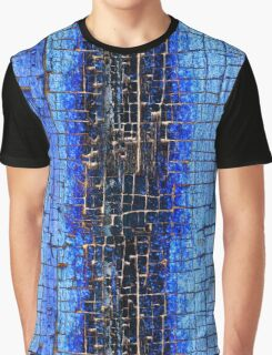 Cracked Grunge Texture Background Graphic T-Shirt