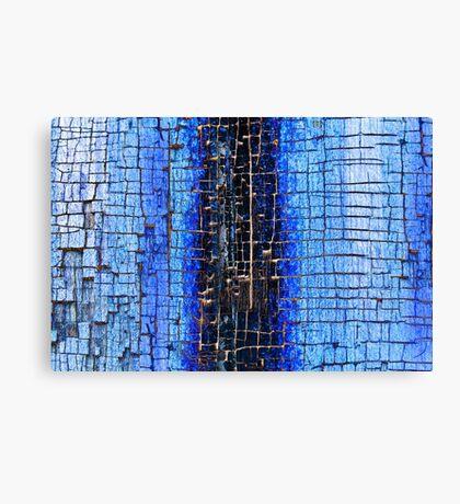 Cracked Grunge Texture Background Canvas Print