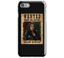 Buffy Faith Wanted Eliza Dushku iPhone Case/Skin