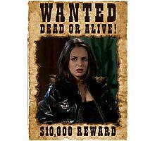 Buffy Faith Wanted Eliza Dushku Photographic Print