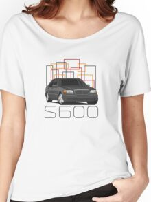 Mercedes-Benz S600 (W140) (black) Women's Relaxed Fit T-Shirt