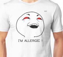 """""""I'm allergic !"""" Unisex T-Shirt"""