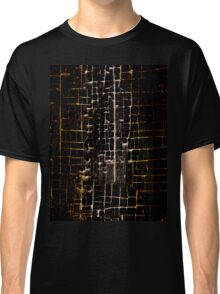 Cracked Grunge Texture Classic T-Shirt
