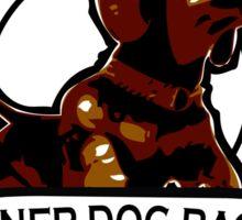 Weiner Dog Races Sticker