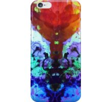 Electric Rorschach Erotic Orchid iPhone Case/Skin