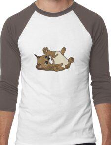 Content kitten Men's Baseball ¾ T-Shirt