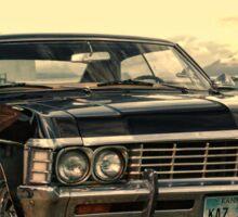 Dean and his Impala Sticker