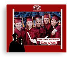 Buffy Graduation Cast Canvas Print