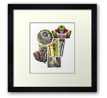 Puzzle People( No Space Shall Be Wasted) Framed Print