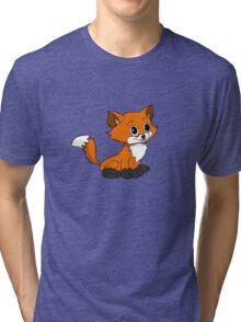 Happy Baby Fox Tri-blend T-Shirt