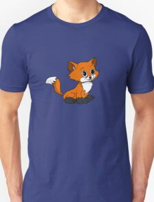 Happy Baby Fox Unisex T-Shirt