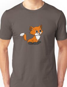 Happy Baby Fox Unisex T-Shirt