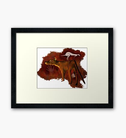 Twilight of a Tiger Framed Print