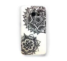 Two Flowers in Ink Samsung Galaxy Case/Skin