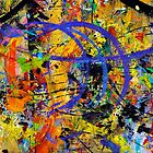 05 Paint in Abstract on Work Table by Larry Costales