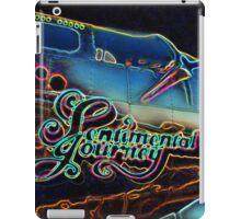 Neon Sentimental Journey Photo Print iPad Case/Skin