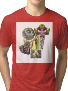 Puzzle People( No Space Shall Be Wasted) Tri-blend T-Shirt
