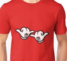 Mickey Hands Thumbs up Unisex T-Shirt