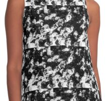Black and White Waterdrops Contrast Tank
