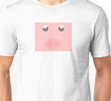 Look how cute this pig is Unisex T-Shirt