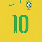 World Cup 2014 - Brazil Shirt Style by Maximilian San