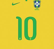 World Cup 2014 - Brazil Shirt Style by Diego Tirigall