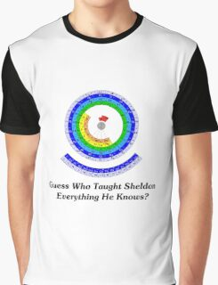 Guess Who Taught Sheldon Everything He Knows?  Graphic T-Shirt
