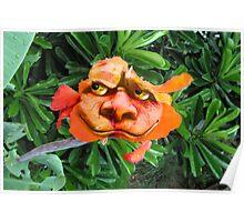 Gargoyle Flower Poster