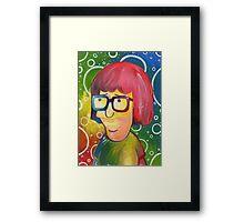 Tina Belcher OK Face Framed Print
