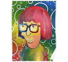 Tina Belcher OK Face Poster