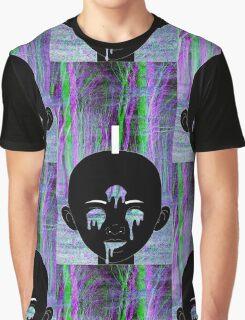 Black Kirikou Graphic T-Shirt