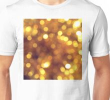 Abstract background with bokeh Unisex T-Shirt