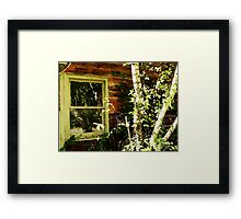 The Reflection of Fall Framed Print