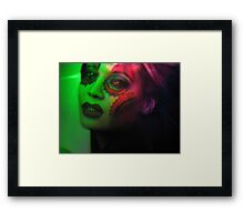 Daughter Of the Elicit Elixir {a continuing story} Framed Print