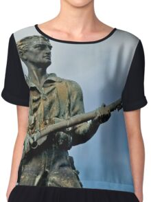 The ANZAC Soldier Chiffon Top
