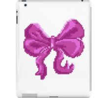 Pretty Pixel Bow iPad Case/Skin