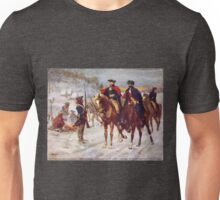 Washington and Lafayette at Valley Forge Unisex T-Shirt