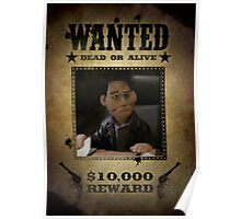 Angel Puppet Smile Time Buffy Wanted Poster
