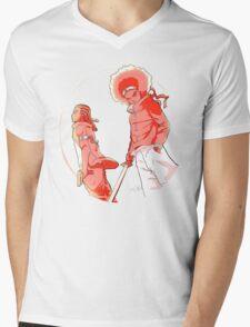 Huey & Riley: The Ninja Way (red) Mens V-Neck T-Shirt