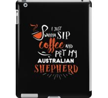 Quirky Australian Shepherd Design iPad Case/Skin