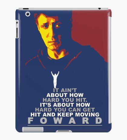 Rocky Balboa Fan Postar iPad Case/Skin