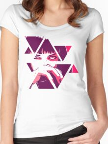 Mia Wallace - Pulp fiction Women's Fitted Scoop T-Shirt